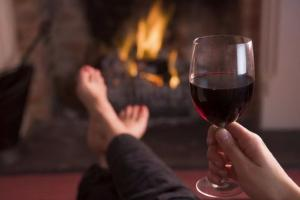 Excellent news! Apparently drinking red wine gives you a sharper mind