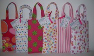 Forget me not Fabric Party Bags